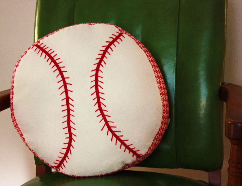 Baseball pillow 004