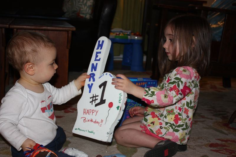 Henry turns one! 048
