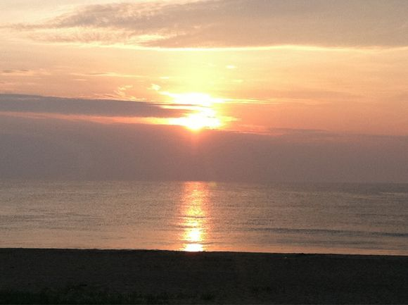 A sunrise goodbye...