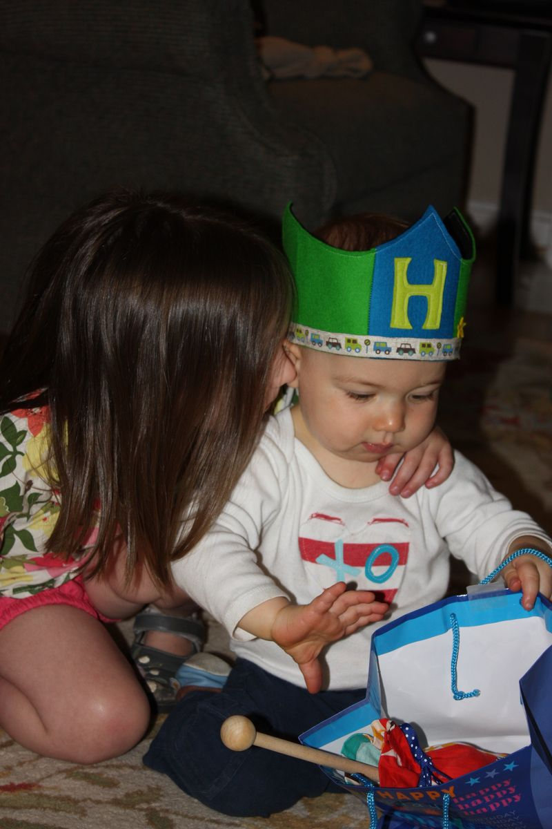 Henry turns one! 060