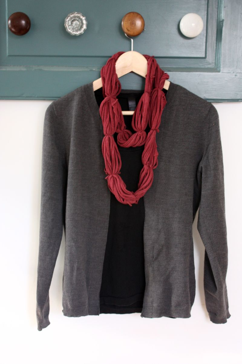 Cardigan and scarf pics for blog 003