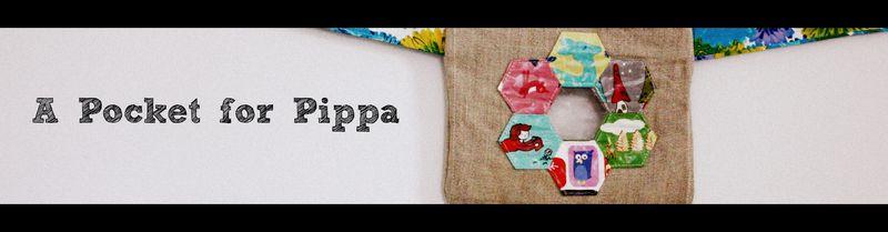 Pocket for pippa banner