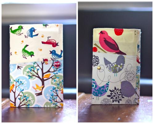 Bird book collage