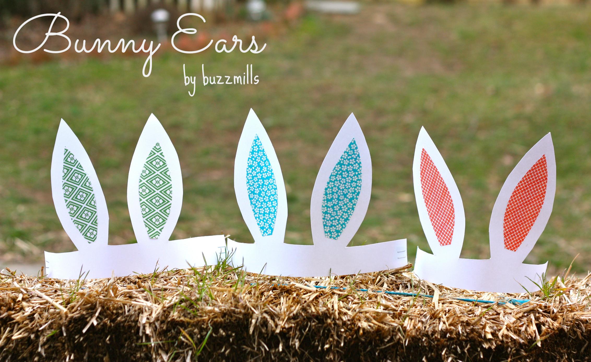 Paper Bunny Ears, a tutorial... - Buzzmills