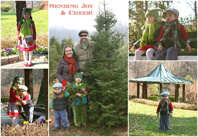Xmas collage with tree 4
