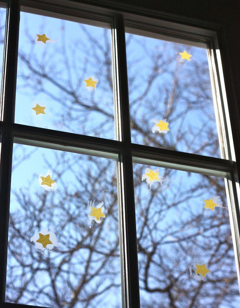 Tissure paper stars