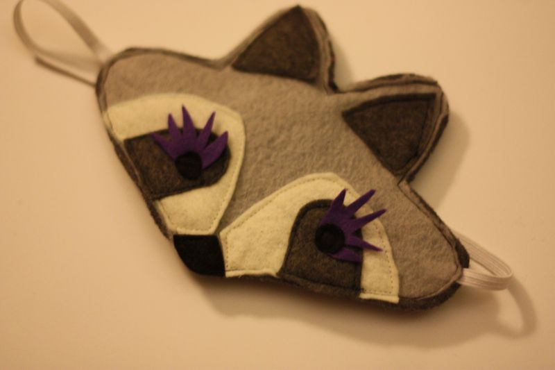 raccoon week: eye mask - imagine gnats Raccoon Eye Mask