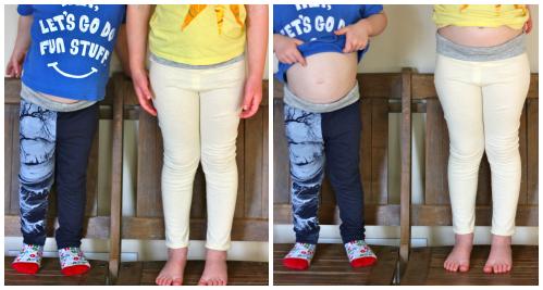 Fancy pants leggings front