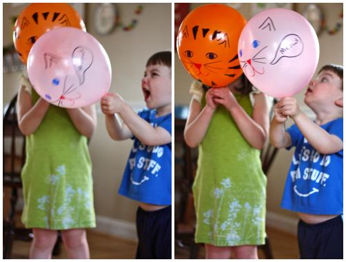 Balloon animals Collage 1
