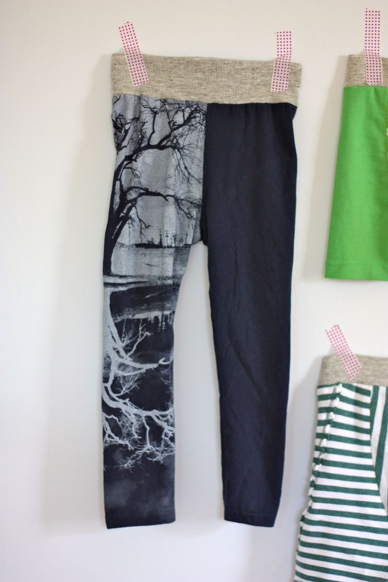 Tree leg fancy pants leggings