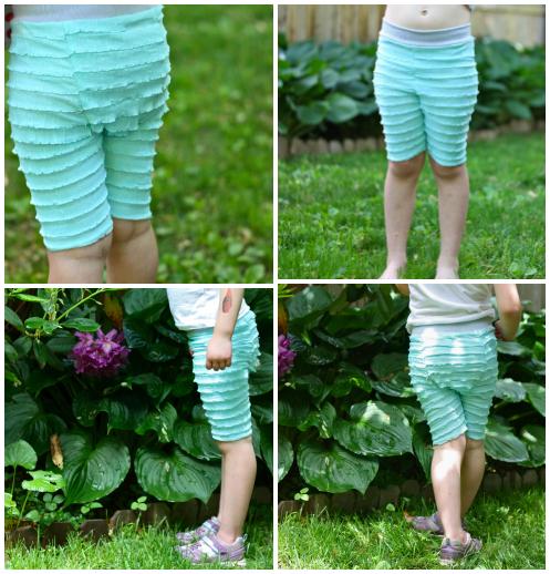 Ruffle shorts 4
