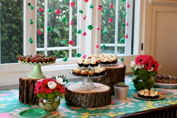 Dessert table shower