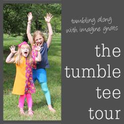 The tumble tee tour button 250px