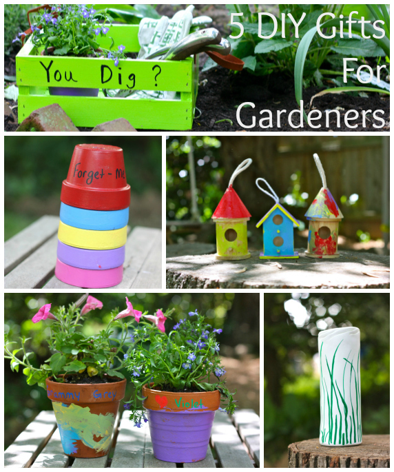 5 DIY gifts for Gardners words