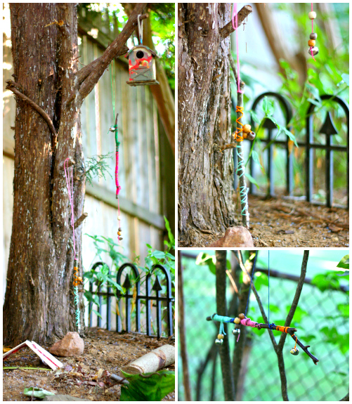 Fairy bells collage