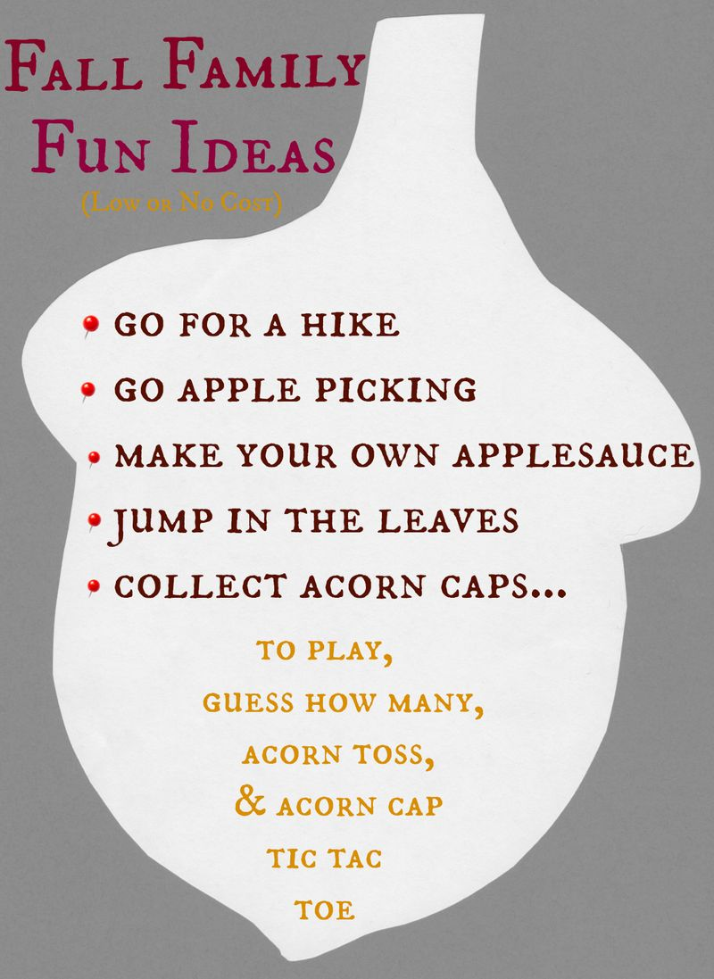 Fall family fun ideas