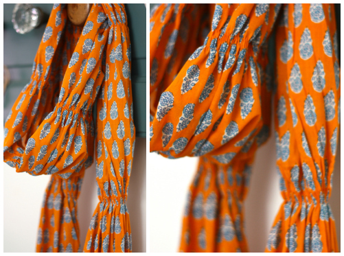 Runched scarf