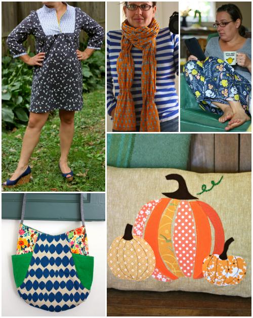 Selfish sewing collage