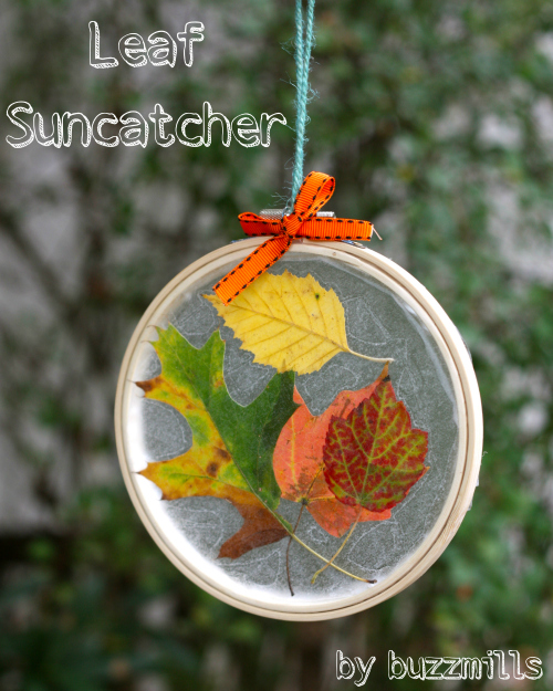 Leaf suncatcher