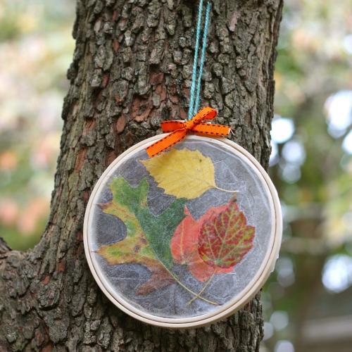 Leaf suncatcher (tree)