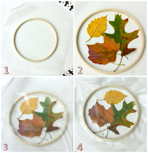 Leaf catcher instructions collage #d