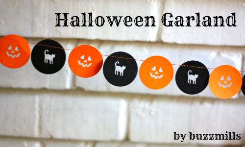 Halloween garland by buzzmills