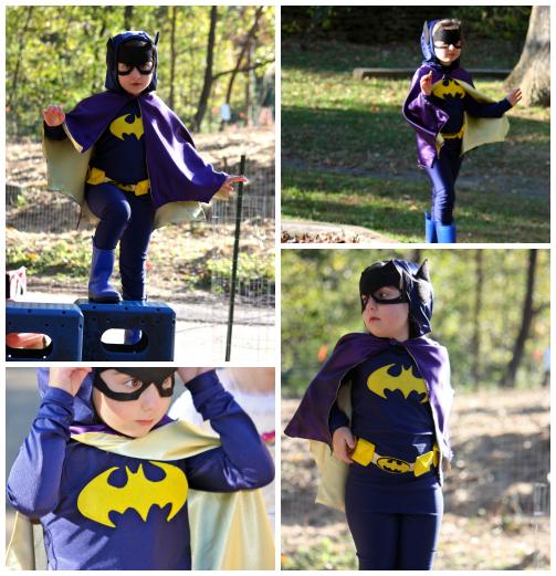 Batgirl collage