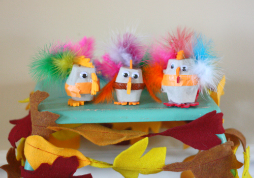 Three little turkeys buzzmills