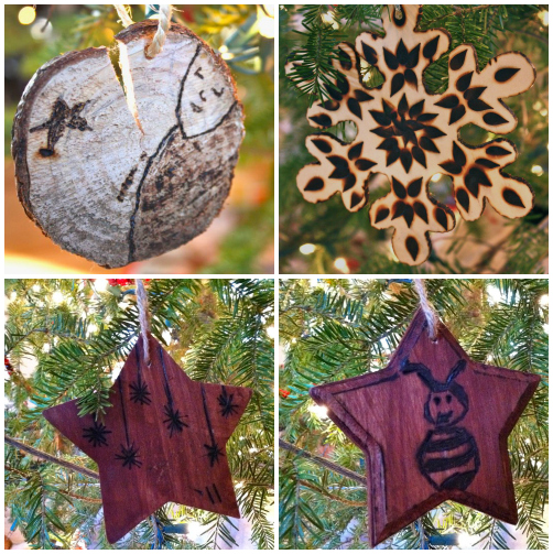 Etched ornaments