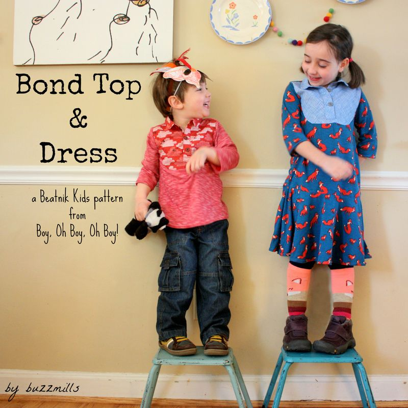 Bond top & dress