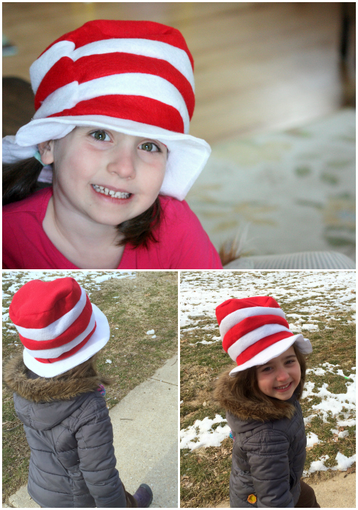 Cat in the hat v Collage