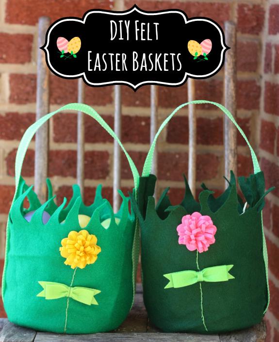 Diy felt easter basket inner child fun diy felt easter basket negle Image collections
