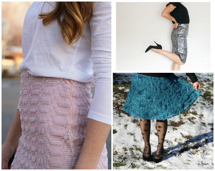 Embellish using embellished fabric