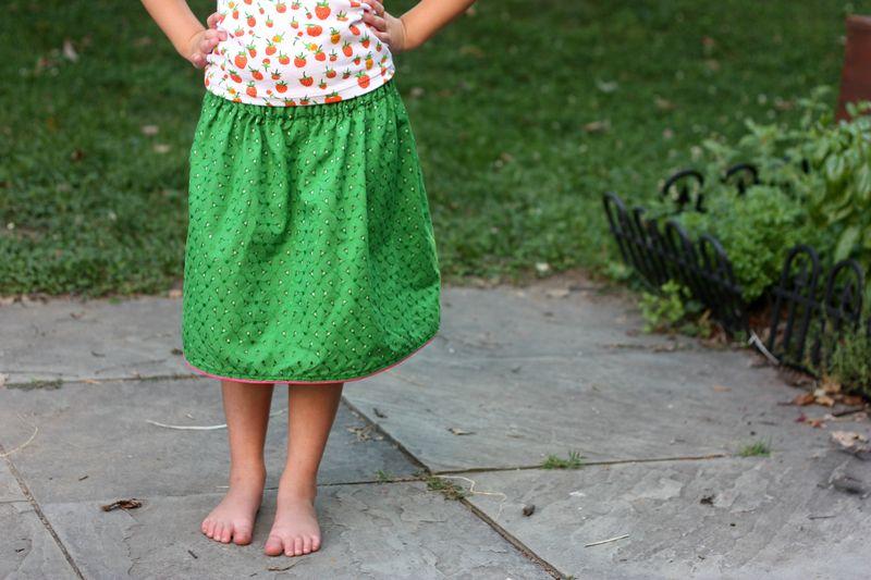 Skirt and shirt3