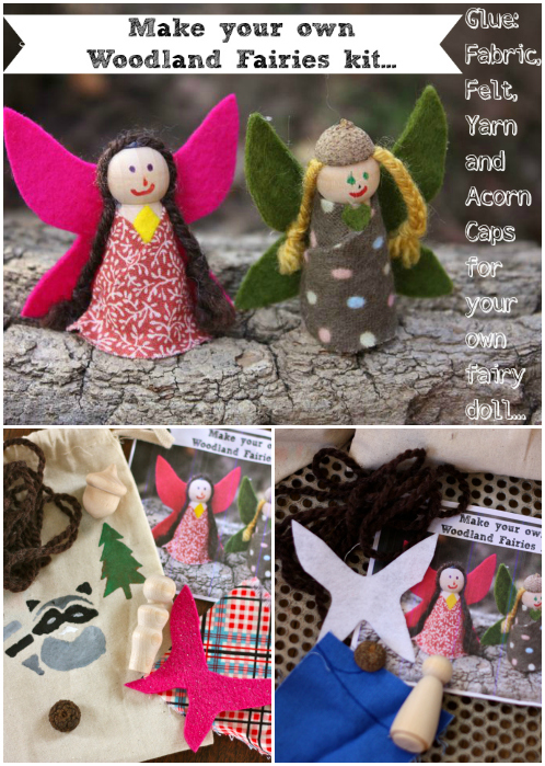 Fairy kit collage