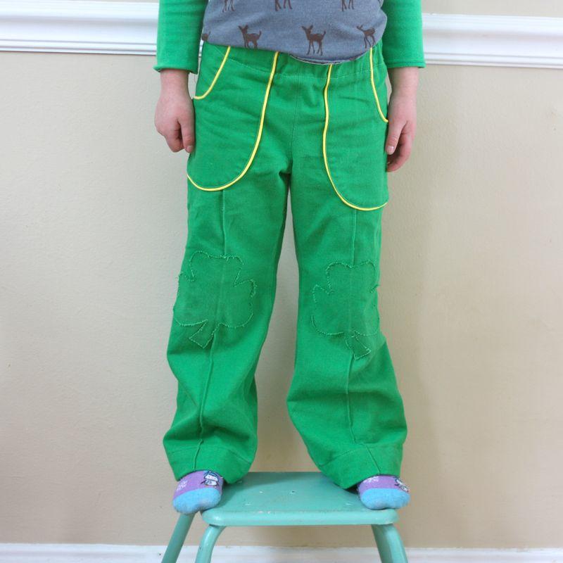 Shamrock parsley pants