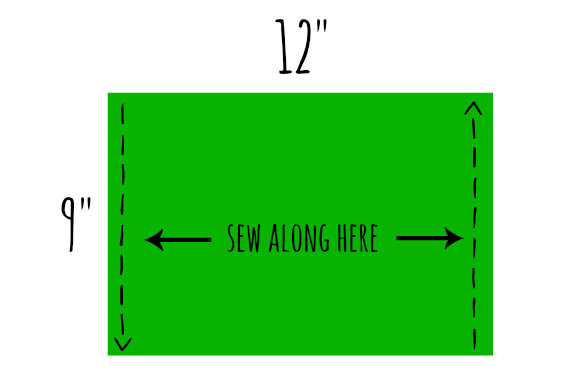 Sew here diagram