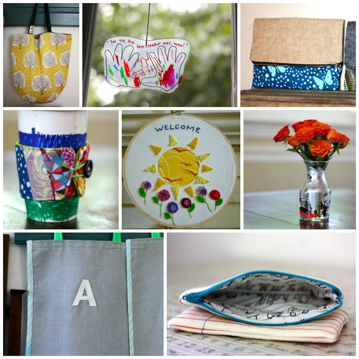 Teacher gifts Collage