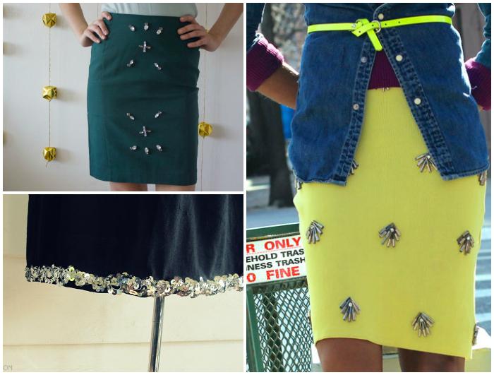 Bling embellishment Collage