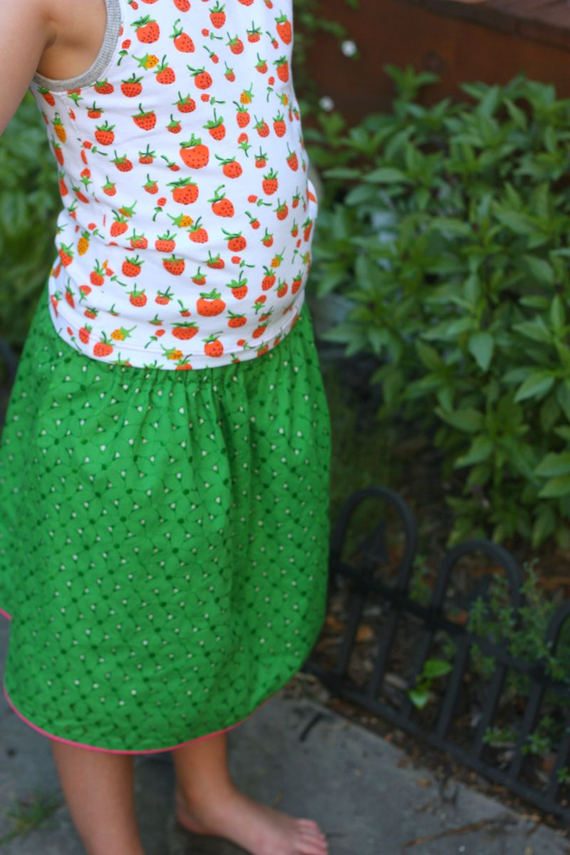 Skirt and shirt2