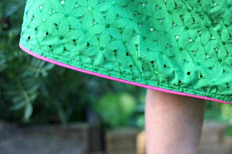 Skirt edge