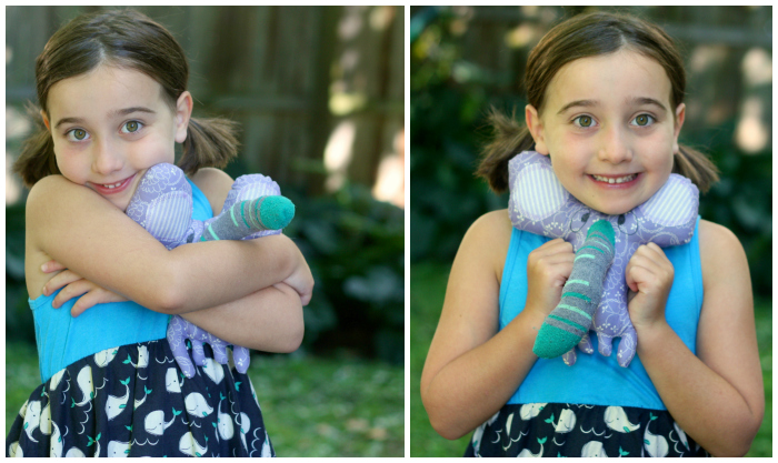 Violet and elephant Collage