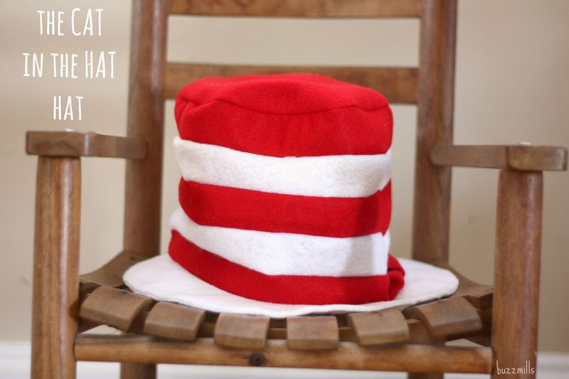 Hat on chair words