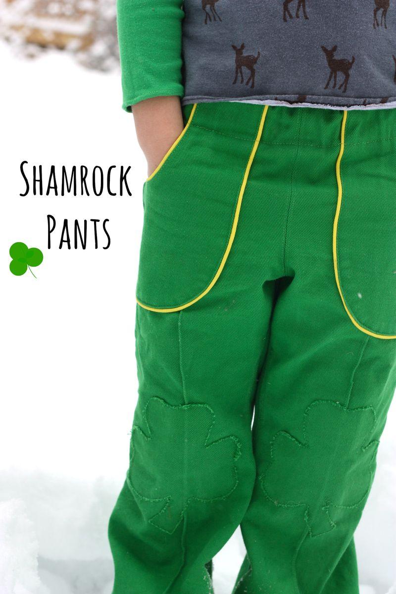 Shamrock pants