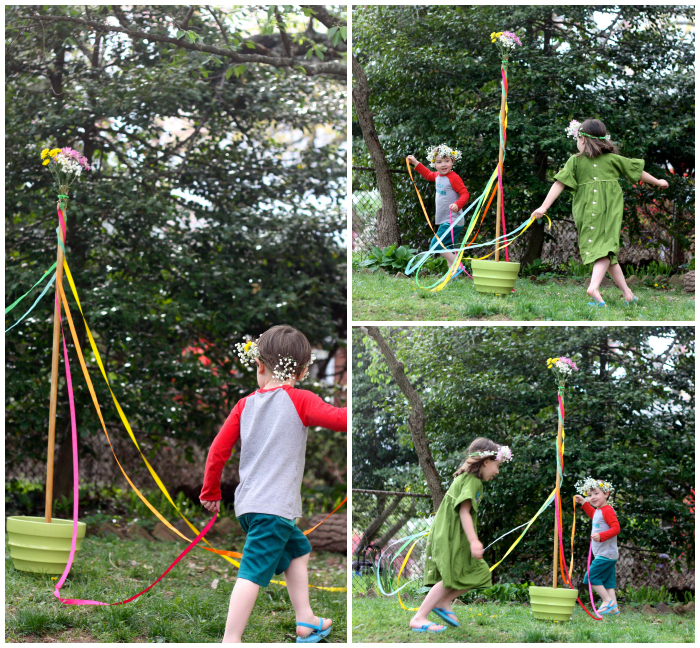 Maypole collage