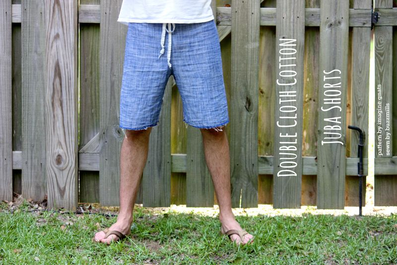 Double cloth juba shorts