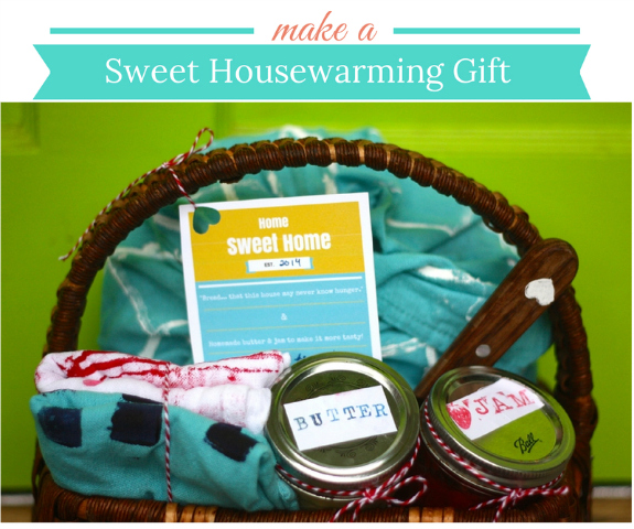 Make a housewarming gift
