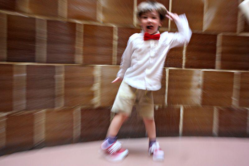 Crazy dancer
