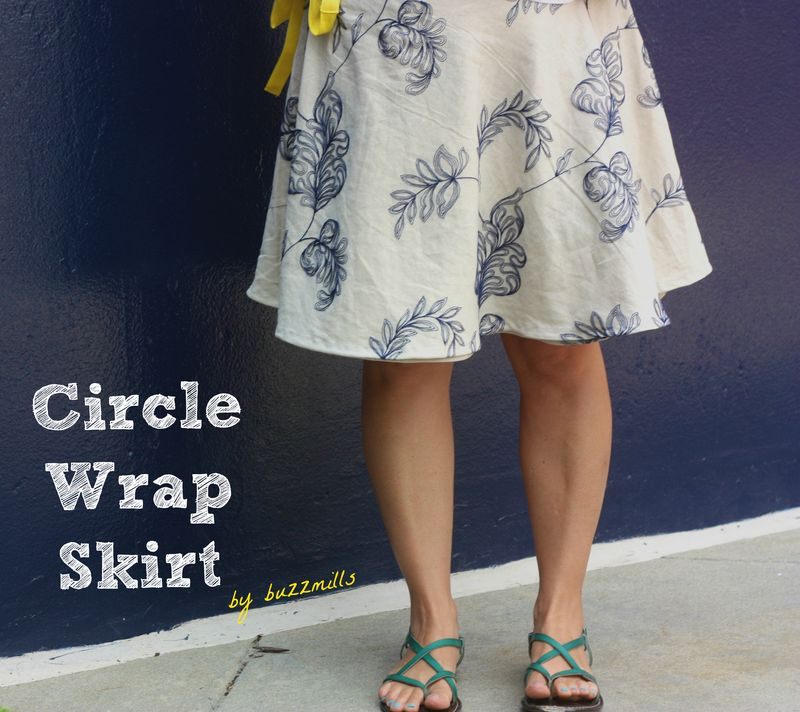 Circle wrap skirt 1