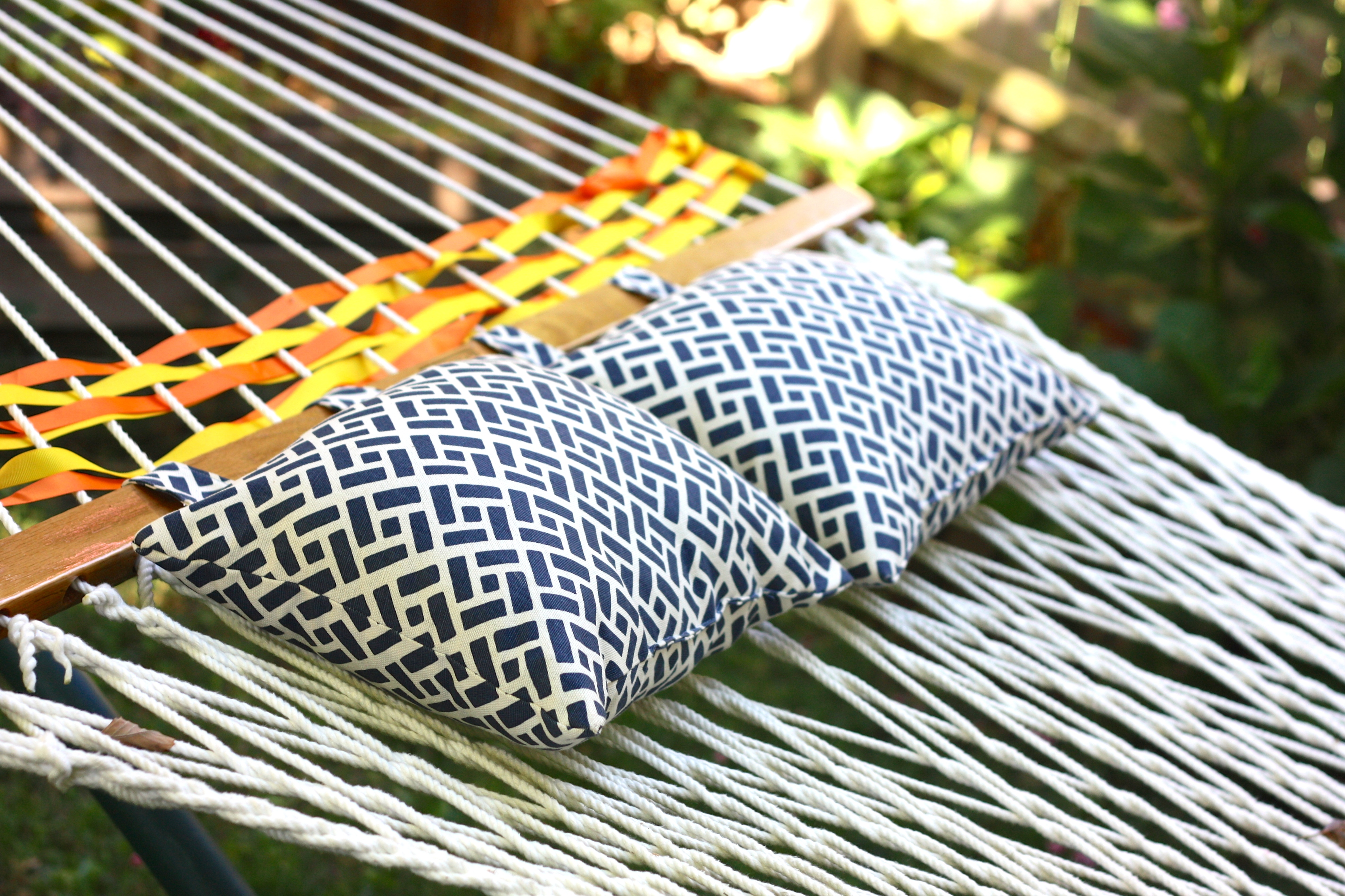 steel hammock hayneedle bay with master thick pillow ft stripe island cfm pillows top stand product